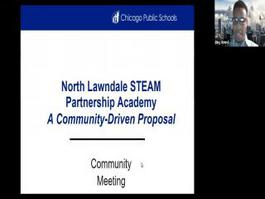 Community Meeting with Lawndale Community Academy 10/14