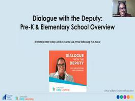 Dialogue With The Deputy: Options For Knowledge using GoCPS 11/06/2020